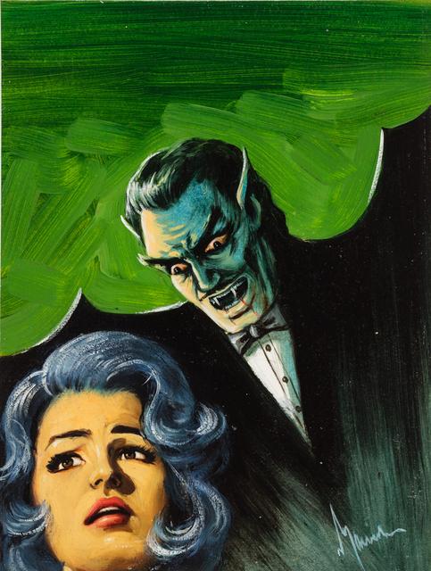 'Untitled (Vampire stalking frightened woman)', c. 1960-75, Ricco/Maresca Gallery
