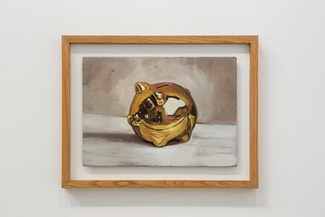 , 'Pig (Gold),' 2016, Lawrie Shabibi