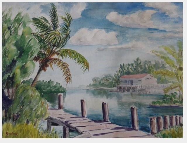 David Davidovich Burliuk, 'Florida', 1948, Tranter-Sinni Gallery