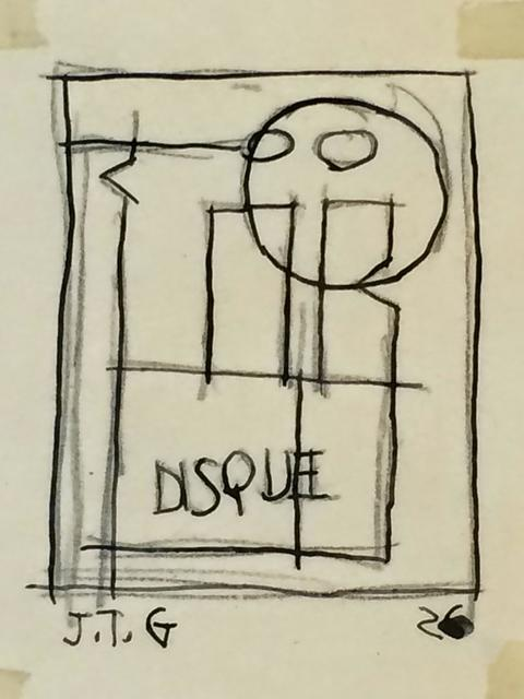 , 'Disque,' 1926, Galería de las Misiones