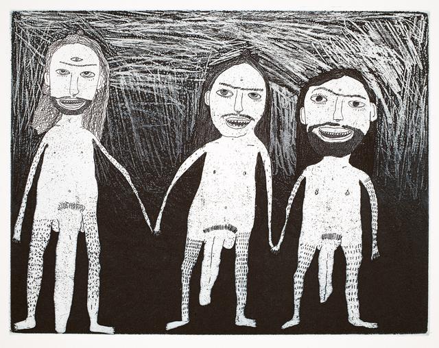 , 'Trio,' 2015, Cicada Press