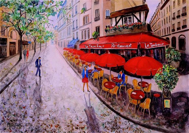 , 'Le Tambour,' , Emillions Art