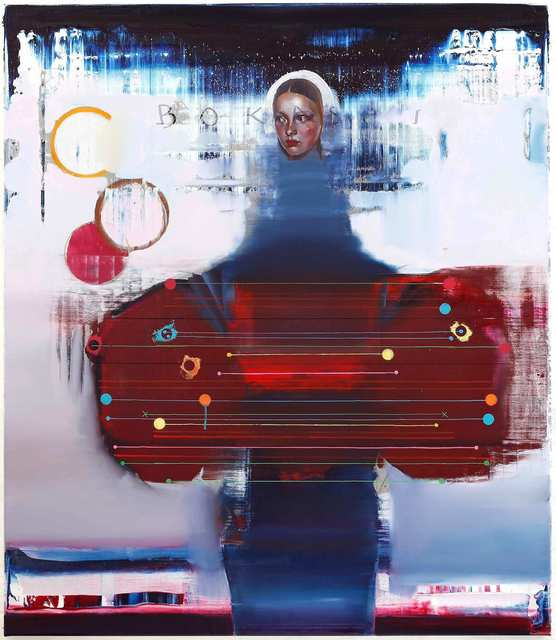 Rayk Goetze, 'Hoheit (2)', 2020, Painting, Oil and acrylic on canvas, Josef Filipp Galerie