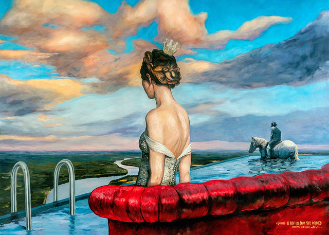 Algis Krisciunas, 'Looking at Real Life', 2018, nobig.art