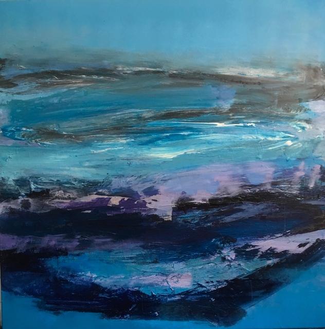 Deborah Lanyon, 'Lake Windermere', 2017, Painting, Acrylic on stretched canvas, Joanna Bryant & Julian Page