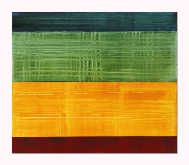 , 'Composition in Greens 6,' 2014, Sundaram Tagore Gallery
