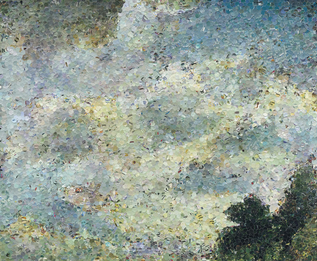 , 'Study of Clouds at Hampstead, after John Constable (from Pictures of Magazines),' 2006, Sikkema Jenkins & Co.