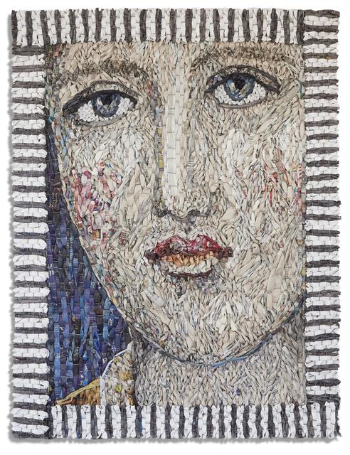 , 'Female Portrait (with frame),' 2018, Andrea Schwartz Gallery