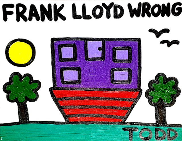 , 'Frank Lloyd Wrong,' , The Ross Art Group Inc.