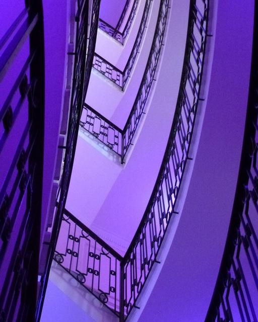 Linda R Cuccurullo, 'Stairway detail #1', 2017, Alessandro Berni Gallery