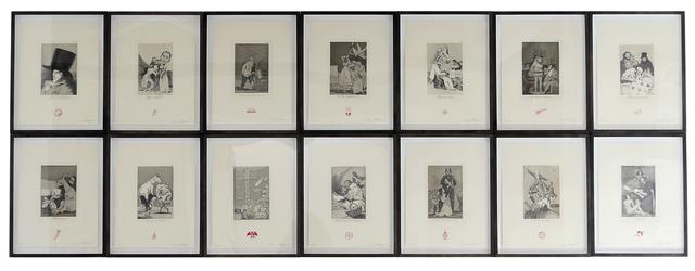 , 'Recurrent Goya,' 2012, Anglim Gilbert Gallery