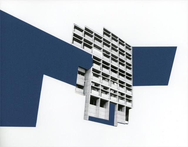 , 'Capitol Complex - Blue Facade,' 2012, Nature Morte