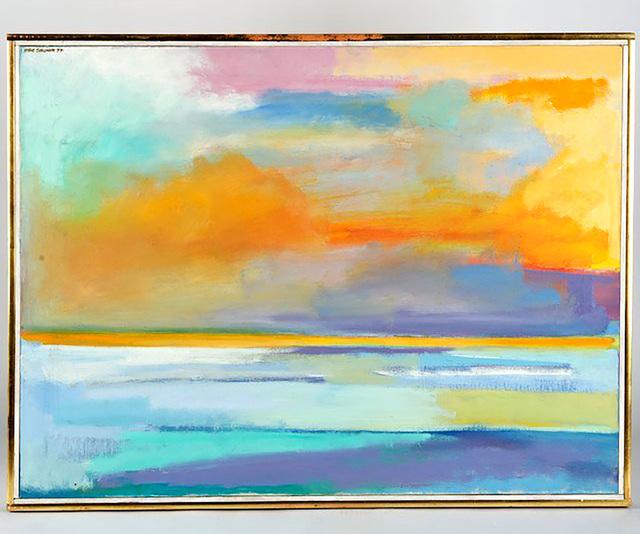 , 'Snow Field (Poindexter Gallery) ,' 1974, Alpha 137 Gallery
