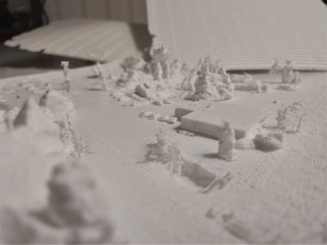 Teddy Trocki-Ryba, 'Jamestown Post Office', 2018, Sculpture, Photogrammetry, 3D Print, Atelier Newport