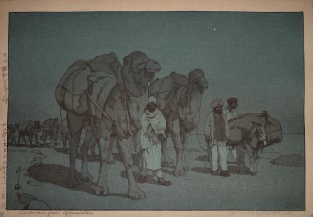 , 'Caravan from Afganistan- Moonlit Night,' 1932, Ronin Gallery