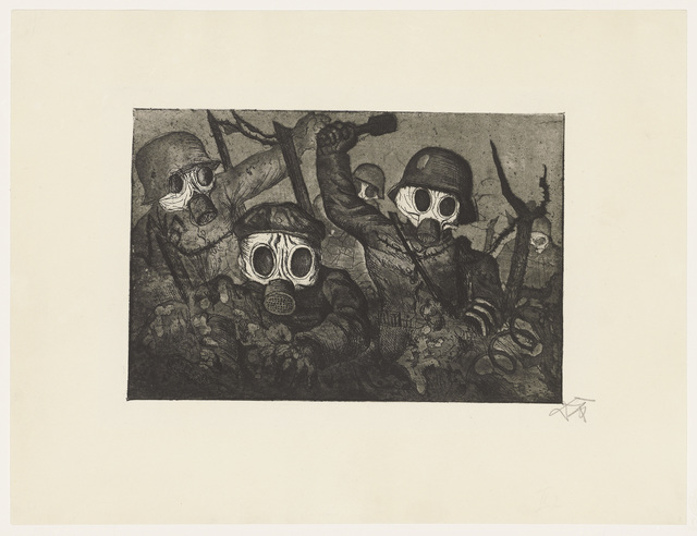 Otto Dix, 'Der Krieg', 1924, Christie's