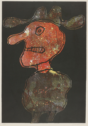 Jean Dubuffet, 'Personnage au Chapeau (Person in Hat),' 1962, Phillips: Evening and Day Editions