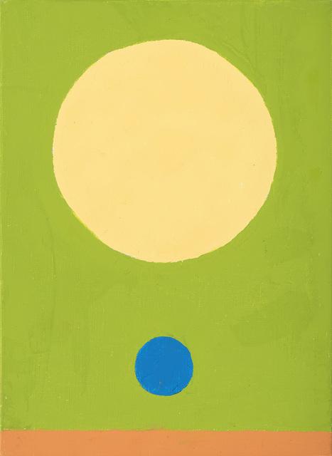 , 'Le poids de la lune 12,' 2017, Galerie Lelong & Co.