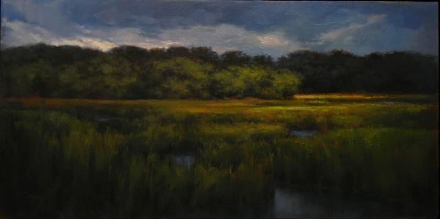 , 'Stormy Marsh,' 2016, Bowersock Gallery
