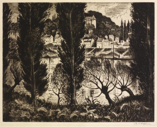 , 'Sevres,' 1926, Osborne Samuel