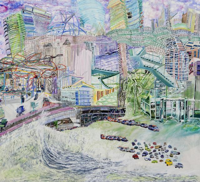 , 'Flecks in the Foam,' 2012, Bookstein Projects