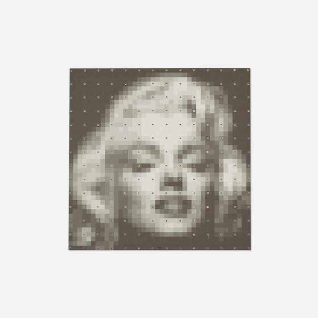 Jean-Pierre Vasarely, 'Marilyn Numerisee', c. 1990, Wright