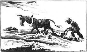 Thomas Hart Benton, 'Plowing it Under', 1934, Kiechel Fine Art