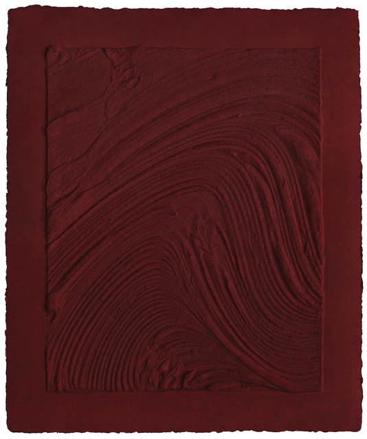 , 'Untitled (Plate III),' 2010, Mixografia