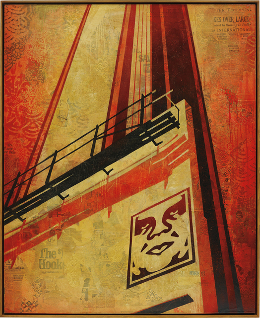 Shepard Fairey (OBEY), 'Sunset & Vine Billboard', 2011, Phillips