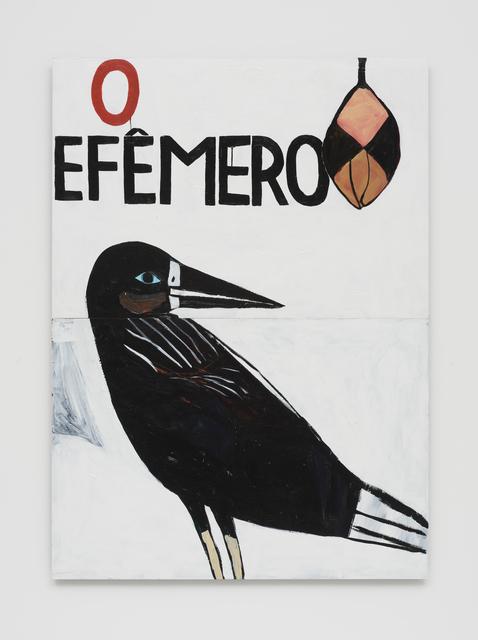 , 'O Efêmero,' 2016, Casa Triângulo