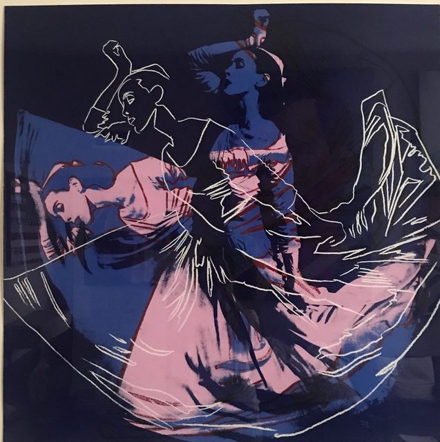 Andy Warhol, 'Letter to the World (The Kick) (Unique)', 1986, Print, Screenprint, Revolver Gallery