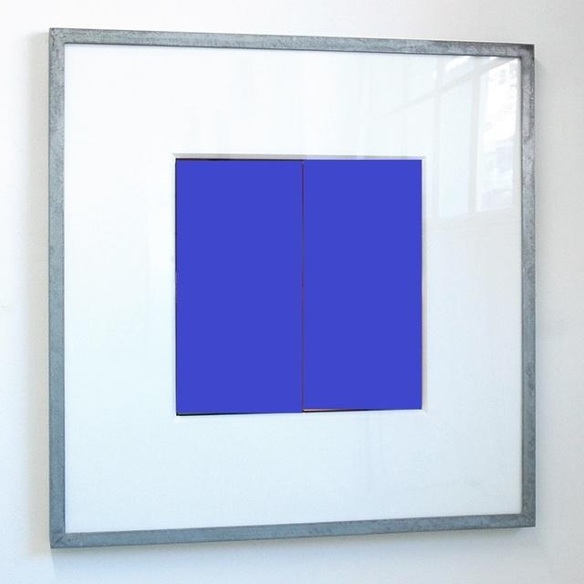 Jürgen Paas, 'JEU DE CARRÉ BLUE ', 2007, Stern Wywiol Galerie