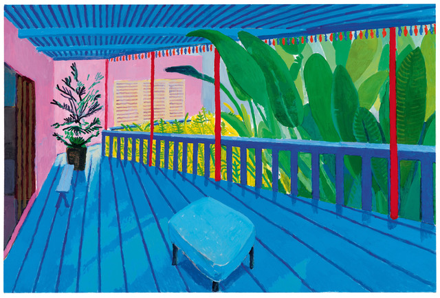 , 'Garden with Blue Terrace,' 2015, TASCHEN