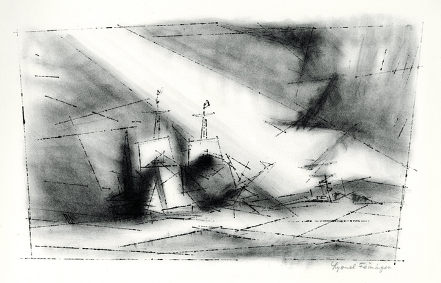 , 'Off the Coast, Third Stone (Vor der Kuste, Stein 3),' 1951, Thomas French Fine Art