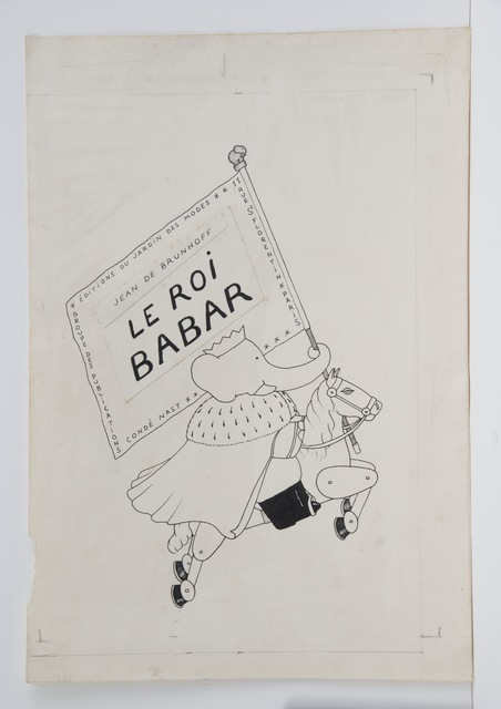 , 'Cover illustration for Babar the King,' 1936, Mary Ryan Gallery, Inc