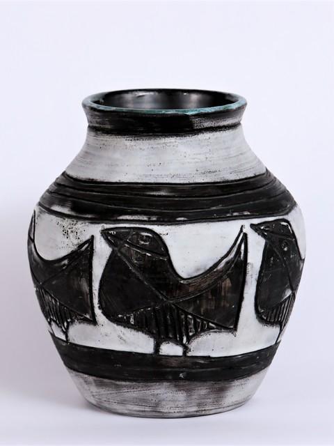, 'Vase aux Oiseaux,' ca. 1950, Lebreton