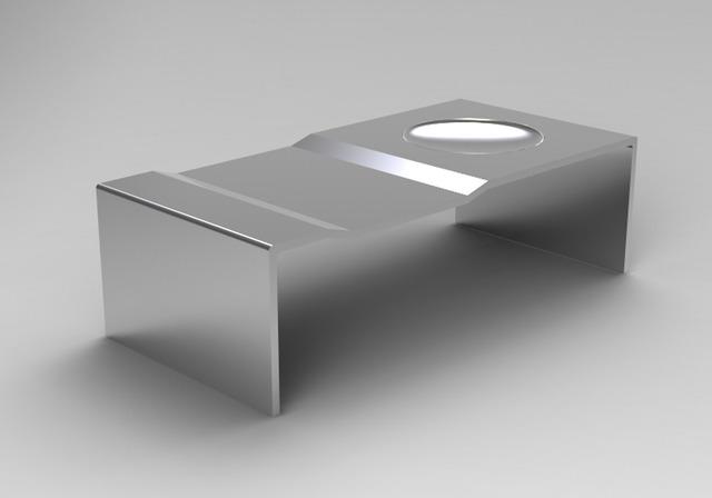 Sebastian Errazuriz, 'Bowl Bench', 2008, Design/Decorative Art, Stainless stell, Cristina Grajales Gallery