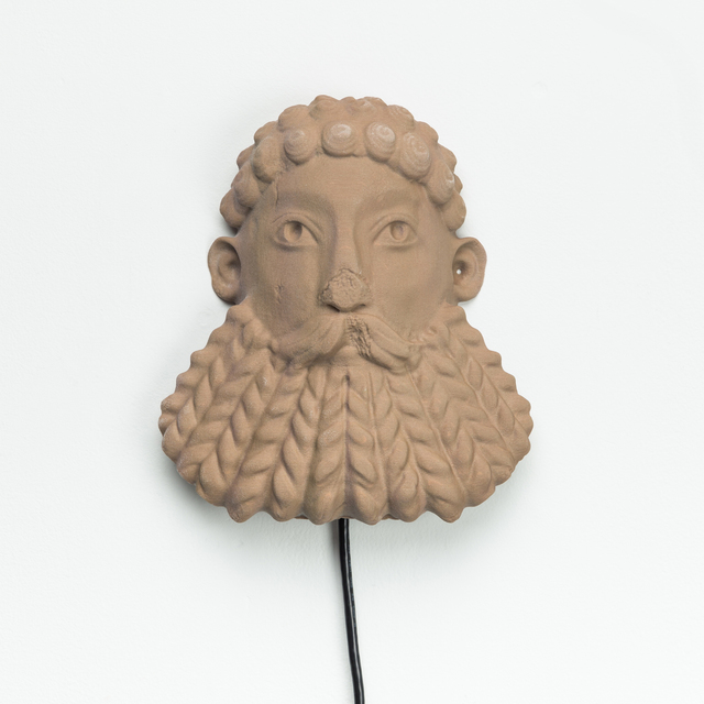 Morehshin Allahyari, 'South Ivan Human Heads: Bearded River God', 2017, Upfor
