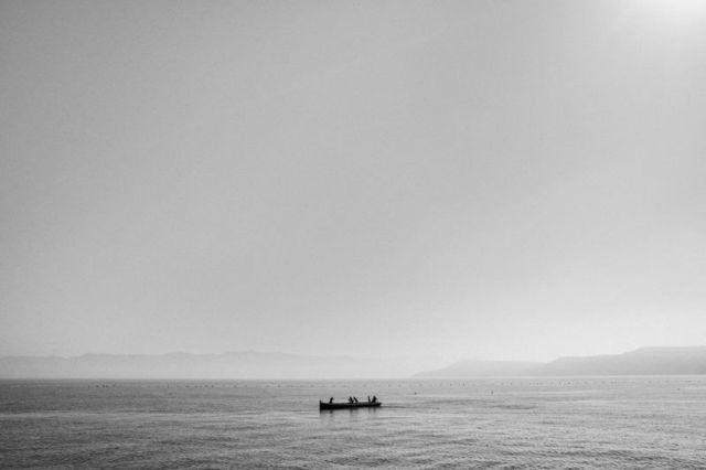 , 'Setting out, Porto Paglia, Sardinia,' 2017, ILEX Gallery