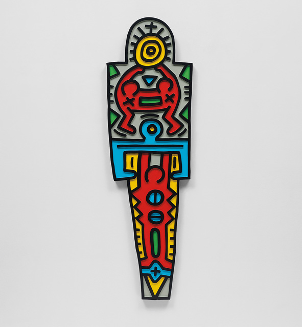 Keith Haring, 'Totem (Wood)', 1988, Phillips