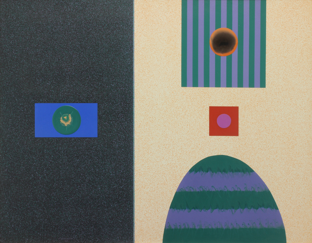 , 'Chromatic Contrasts No. 34,' 1965, Addison Rowe Gallery