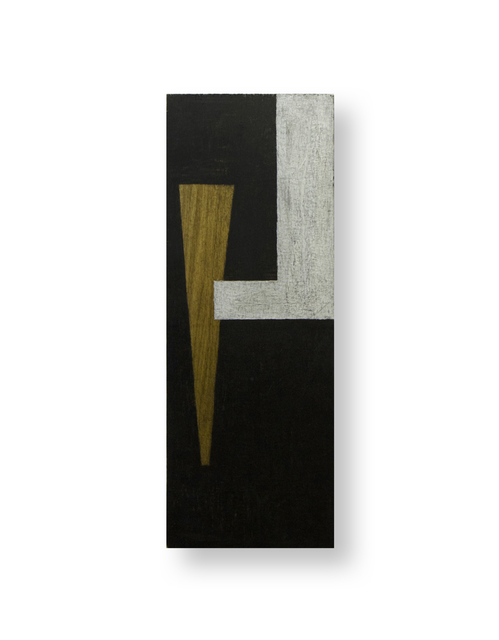 , 'Untitled (black plywood works),' 1985, Bartha Contemporary