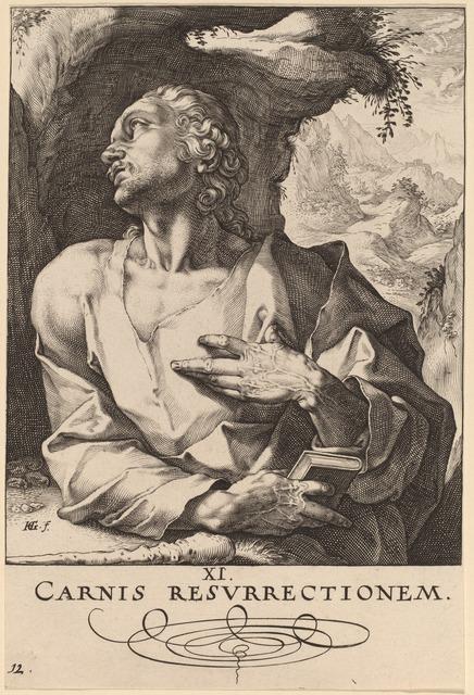 Hendrik Goltzius, 'Saint Jude', probably 1589, National Gallery of Art, Washington, D.C.