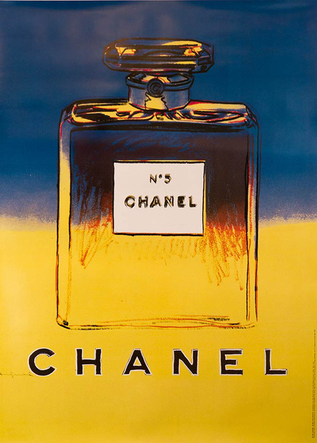 Andy Warhol, 'Chanel No. 5 (Blue/Yellow)', 1997, EHC Fine Art Gallery Auction
