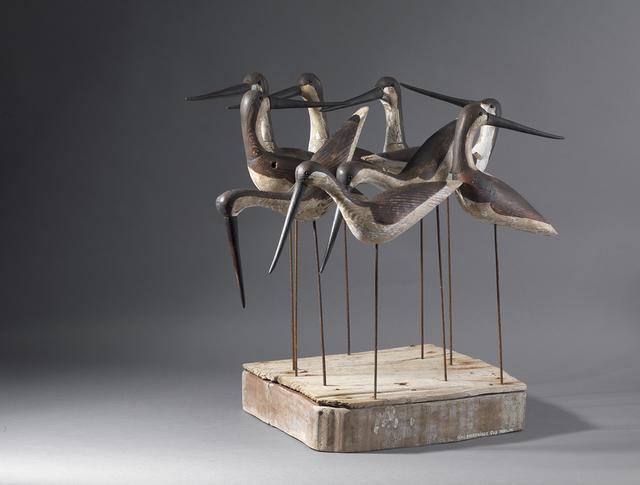 , 'Nine Shorebirds,' , Dowling Walsh