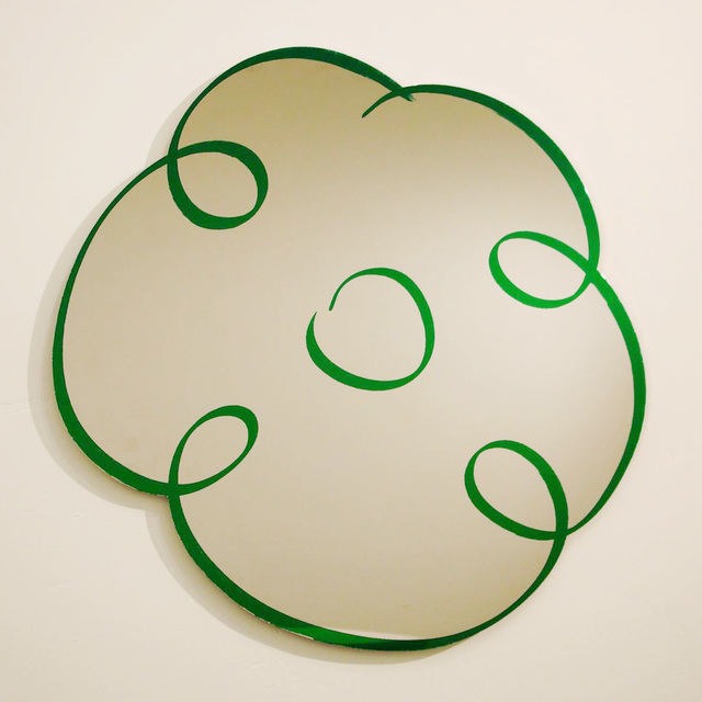 , 'Flower Drawing (Green),' 2011, Barbara Mathes Gallery