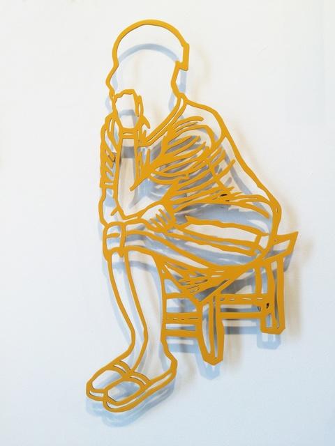, 'La Penseuse,' 2016, Jack Bell Gallery