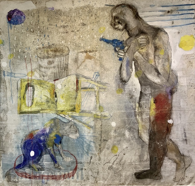 Sadikou Oukpedjo, 'Transition', 2019, Kristin Hjellegjerde Gallery