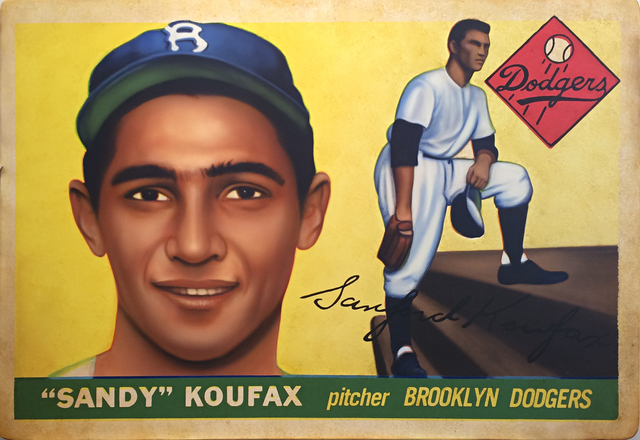 , '1955 Topps Sandy Koufax,' 2017, Axiom Contemporary