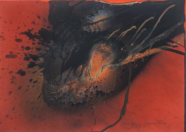 , 'Neon Fish,' 1977, Galerie Schwarzer